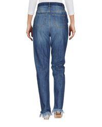 Suoli Blue Denim Trousers