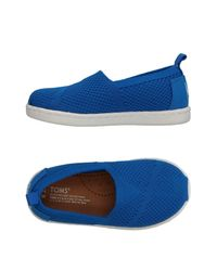 TOMS Blue Low-tops & Sneakers