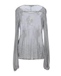 Mariagrazia Panizzi Gray T-shirt