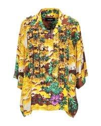 DSquared² Yellow Shirt