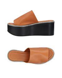 Robert Clergerie Brown Sandals