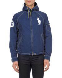 Blouson Polo Ralph Lauren pour homme en coloris Blue