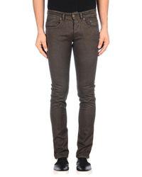 Siviglia Gray Casual Trouser for men