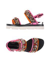 Casadei Black Sandals