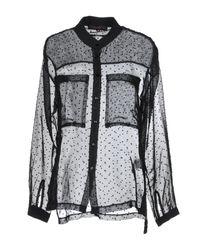 Camicia di CafeNoir in Black