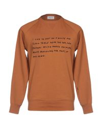 WOOD WOOD Sweatshirt in Brown für Herren