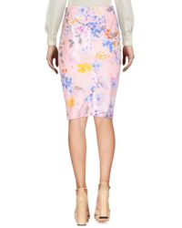 Blumarine Pink Knee Length Skirt