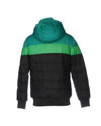 Iceberg Green Down Jacket for men