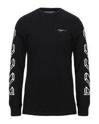 T-shirt Off-White c/o Virgil Abloh pour homme en coloris Black