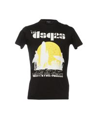 DSquared² Black T-shirt for men