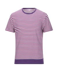Orlebar Brown T-shirts in Purple für Herren
