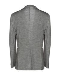 Veste Boglioli pour homme en coloris Gray