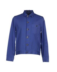 Paul Smith | Blue Jacket for Men | Lyst