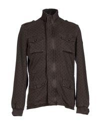 Cooperativa Pescatori Posillipo - Brown Jacket for Men - Lyst
