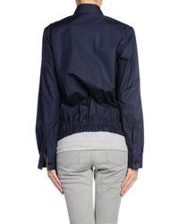 Jil Sander Blue Jacket