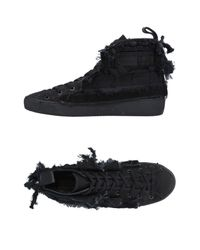 N°21 Black High-tops & Sneakers