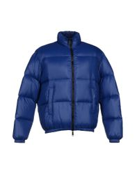 DSquared² Blue Down Jacket for men