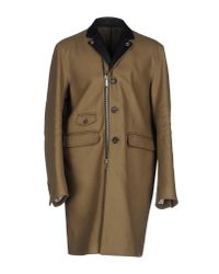 DSquared² - Natural Coat for Men - Lyst