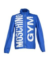 Moschino | Blue Jacket for Men | Lyst