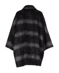 Femme By Michele Rossi - Black Coat - Lyst