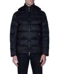 Michael Kors - Blue Down Jacket for Men - Lyst