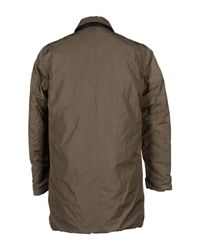 313 Tre Uno Tre Brown Coat for men