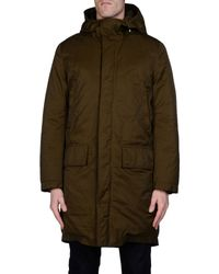 Acne Studios - Green Down Jacket for Men - Lyst