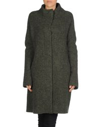 Aspesi - Green Coat - Lyst