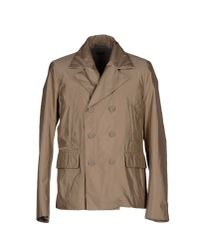 Paolo Pecora - Natural Jacket for Men - Lyst