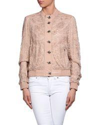Dolce & Gabbana - Pink Jacket - Lyst