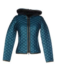 Duvetica | Green Down Jacket | Lyst