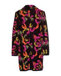 Blumarine - Multicolor Coat - Lyst