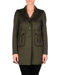 Marc By Marc Jacobs Gray Full-length Jacket