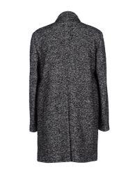 Department 5 - Gray Coat for Men - Lyst