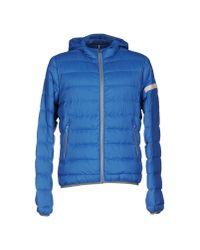 Maestrami - Blue Down Jacket for Men - Lyst