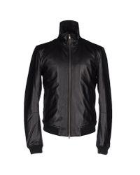 Mauro Grifoni Black Jacket for men
