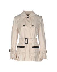 Dolce & Gabbana - Natural Overcoat - Lyst