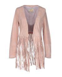 Vintage De Luxe | Pink Jacket | Lyst