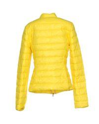 Patrizia Pepe - Yellow Down Jacket - Lyst