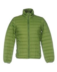 Armani Jeans | Green Down Jacket for Men | Lyst