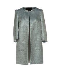 Tonello - Blue Overcoat - Lyst