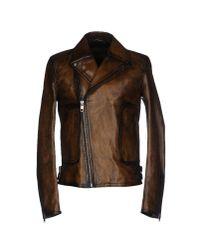 Dolce & Gabbana | Brown Jacket | Lyst