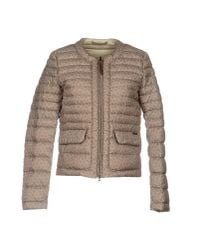 Woolrich | Natural Down Jacket | Lyst