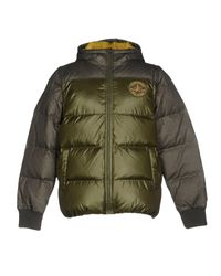Converse | Green Down Jacket for Men | Lyst