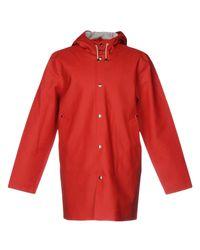 Stutterheim - Red Overcoats - Lyst