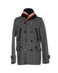 Sacai - Gray Coat for Men - Lyst