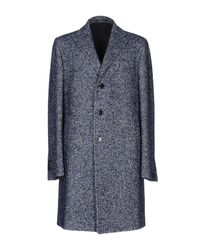 Tagliatore - Blue Coat for Men - Lyst