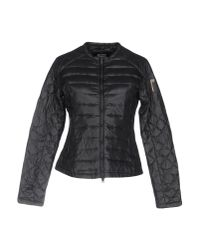 Bomboogie - Black Down Jacket - Lyst