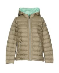 Peuterey | Green Down Jacket | Lyst