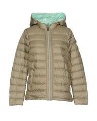 Peuterey - Green Down Jacket - Lyst